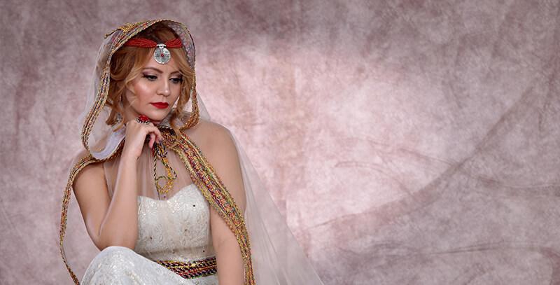 Robe kabyle moderne - www.orientaletendance.com