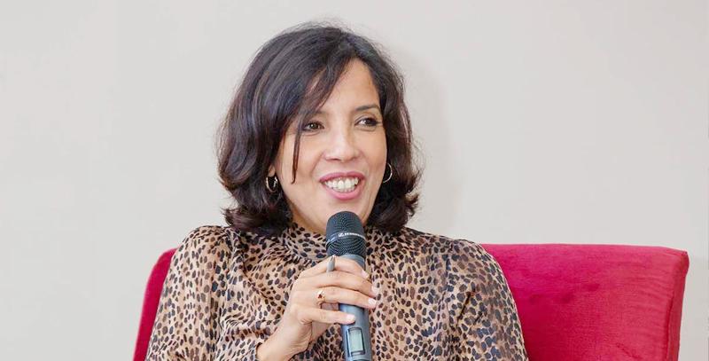 La Marocaine Hind Joudar, fondatrice de l'Oriental Fashion Show
